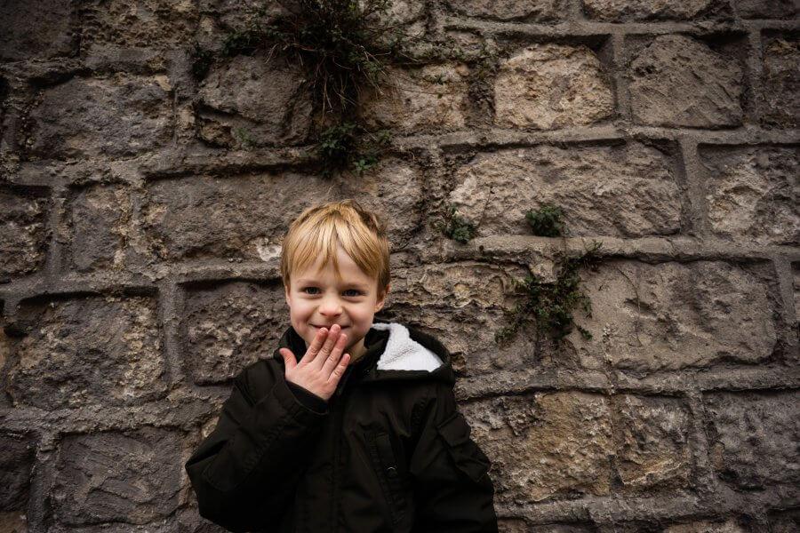 Een leuke foto van spelende kids rond Amersfoort - fotografie het gezin