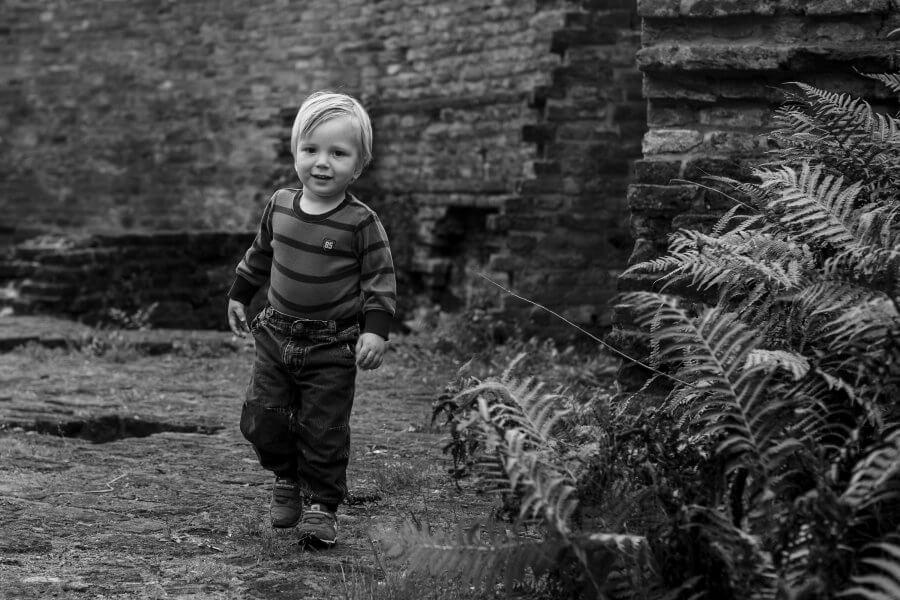 Een leuke foto van gezellige kids rond Hatert - fotoshoot je gezin