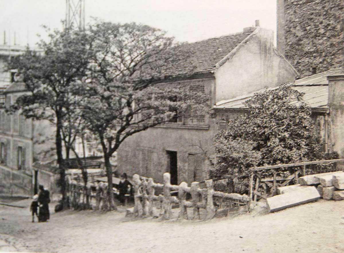 Le Lapin Agile Paris Montmartre-1913