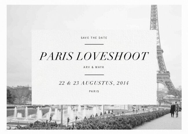 Paris Loveshoot