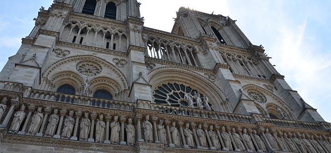 Huwelijksreis in Parijs - Notre Dame