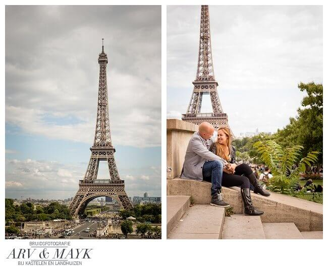 Paris Loveshoot Trocadero en Champs Mars