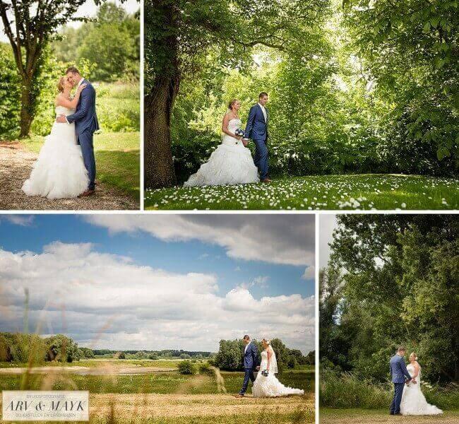 Bruidsfotografie Slot Kasteel DIjk Waal Gelderland Nijmegen