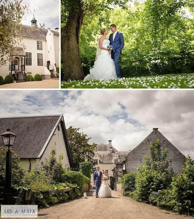 Bruidsreportage Slot Doddendael Gelderland Ewijk Nijmengen