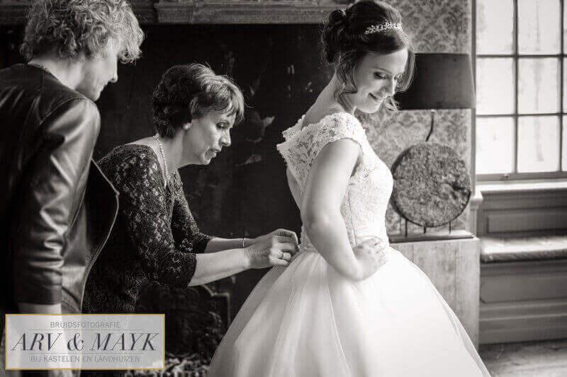 Bruidsfotografie Kasteel Wijenburg Trouwen 03