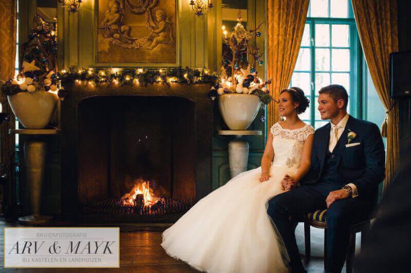 Bruidsfotografie Kasteel Wijenburg Trouwen 14