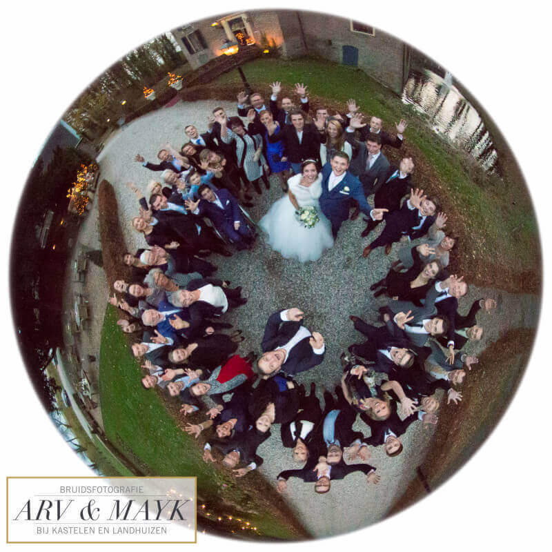 Bruidsfotografie Kasteel Wijenburg Trouwen 17