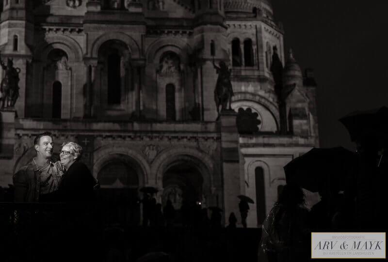 Loveshoot Parijs Montmartre Sacre Coeur