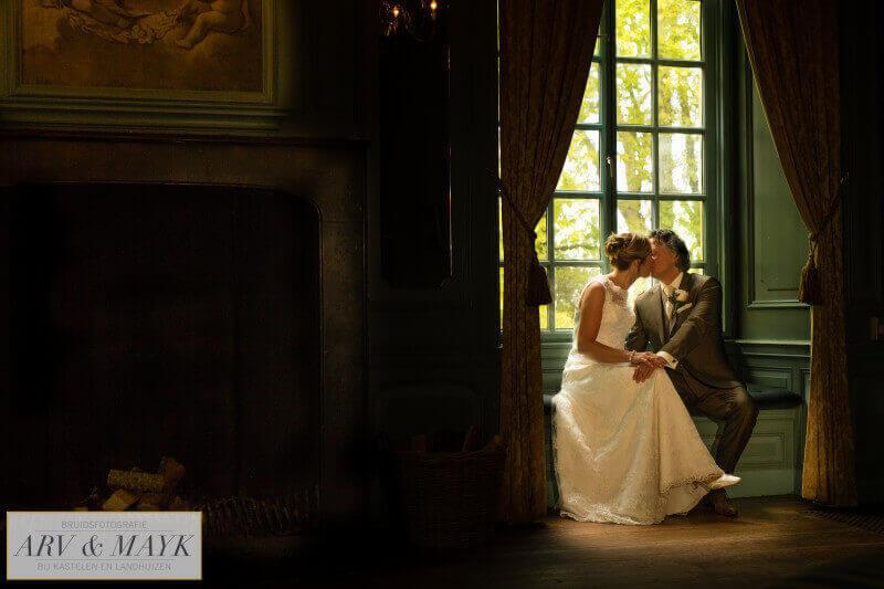 Trouwen bruidsreportage Kasteel Wijenburg_004