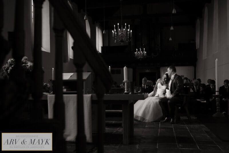 16 Bruidsreportage Trouwen Kasteel Wijenburg