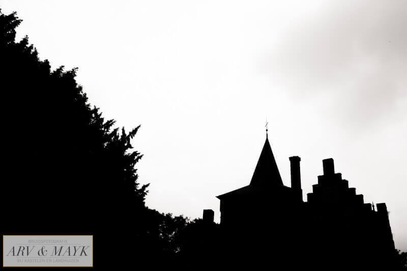 20 Bruidsreportage Trouwen Kasteel Wijenburg