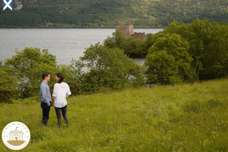 Scotland Destination Wedding Photographer Urquhart Castle 09