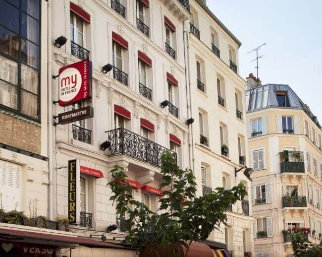 leukste hotels Montmartre