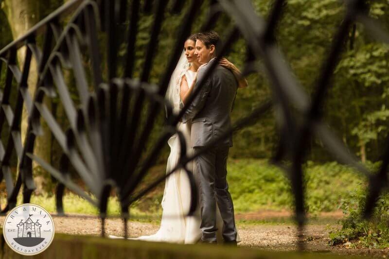 Bruidsfotografie bij Kasteel Doorwerth