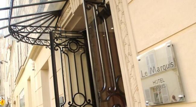 Hotel-Parijs-Eiffeltoren-Hotel-Le Marquis Eiffel