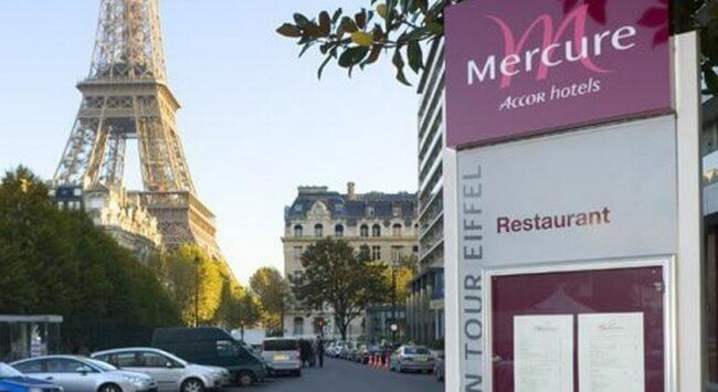 Hotel-Parijs-Eiffeltoren-Mercure Paris Centre Tour Eiffel