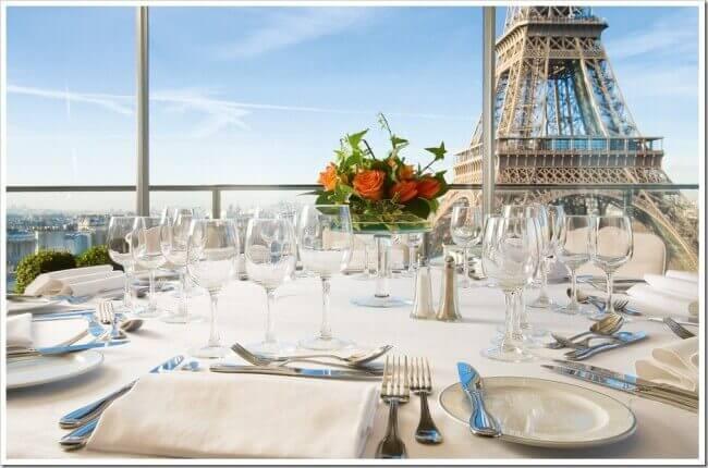 hotels bij de Eiffeltoren