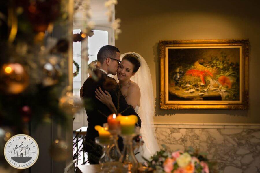 Creatieve bruidsfotografie bij de Salentein