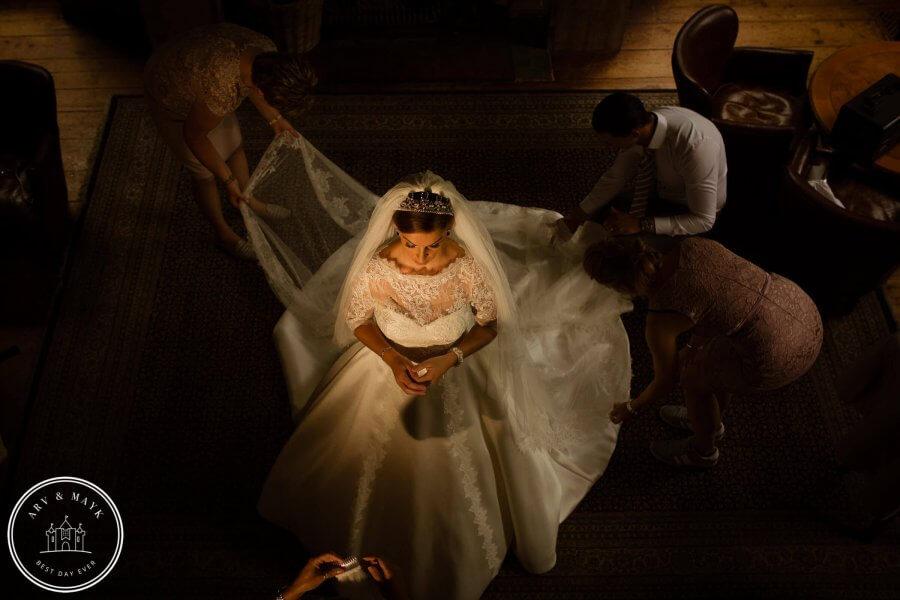 Sneak Peak bruidsfotografie Kasteel Wijenburg