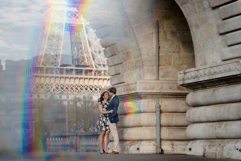 Fotoshoot in Parijs