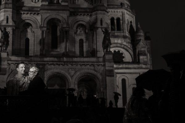 Parijs bij nacht