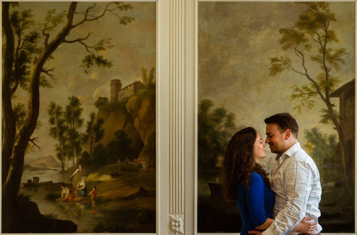 Loveshoot in een kasteel