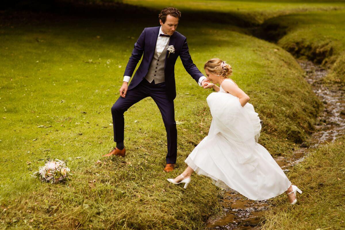 Landgoed groot Warnsborn trouwen