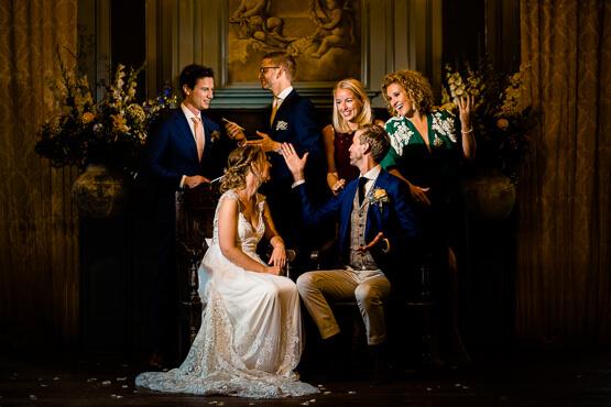 Voor jullie huwelijk in Kasteel Duivenvoorde trouwfotograaf