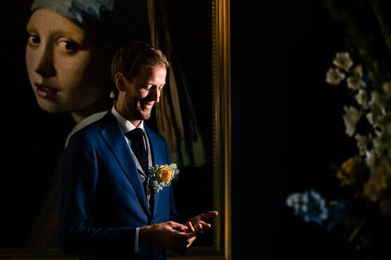 Voor een trouwerij in Scheveningen bruidsfotografie
