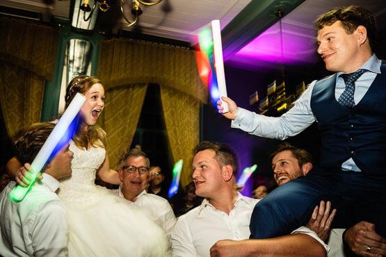 Bruidsfotografie voor een huwelijk bij Arsenaal