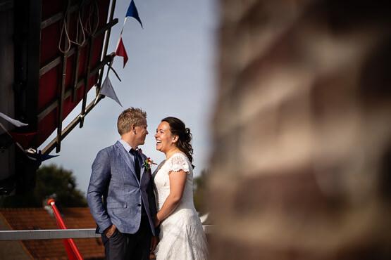 Bruidsfotografie voor jouw bruiloft bij Haarlemmermeerstation