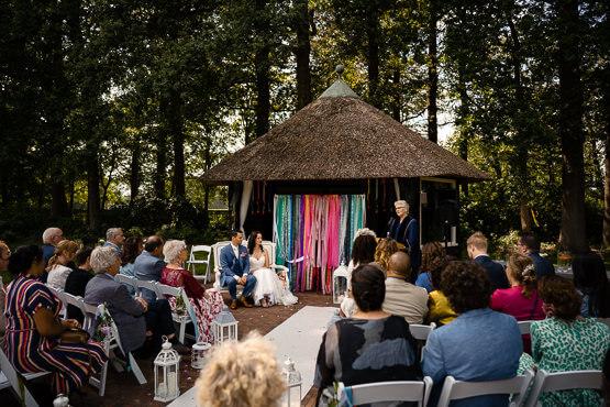 Bruidsfotograaf voor een huwelijk in Het Spaansche Hof
