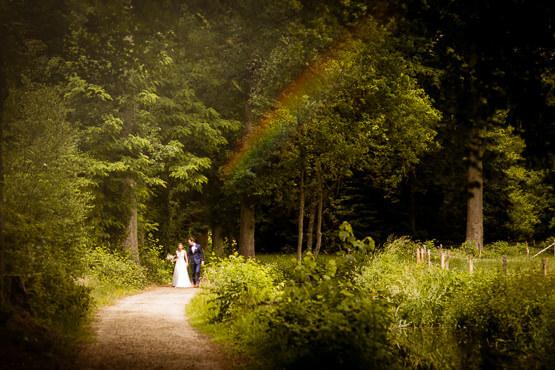 Trouwfotograaf voor een bruiloft bij Kasteel Spelderholt