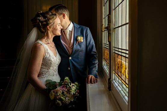 Bruidsfotografie voor een huwelijk bij Zeist