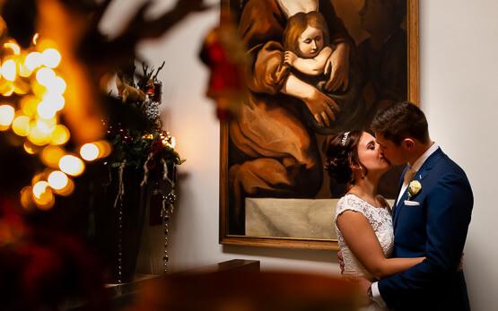 Romantische trouwfotograaf