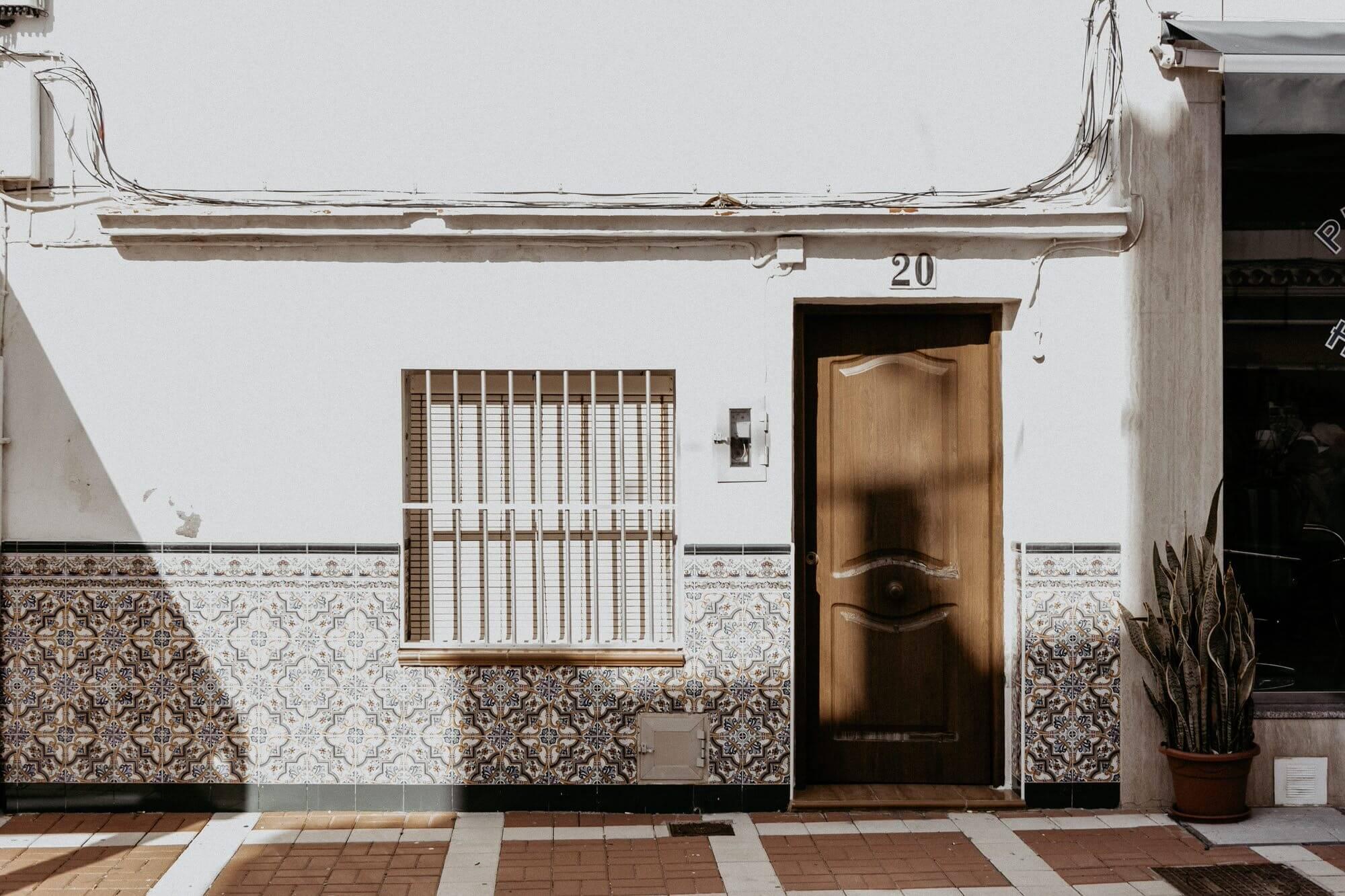 Voor een trouwerij bij Andalusië bruidsfotograaf