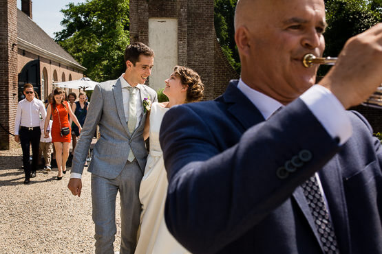 Trouwfotograaf voor een bruiloft in Leusden