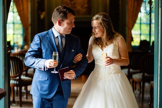 Fotograaf voor een bruiloft bij Beesd