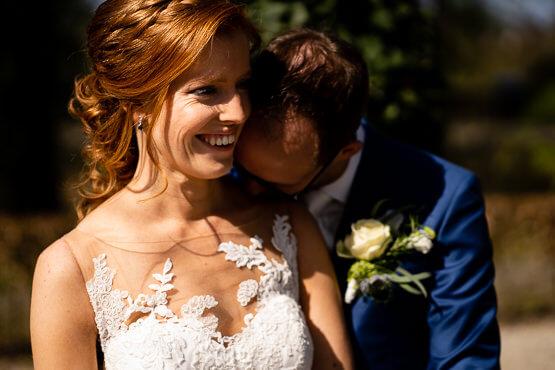 Fotograaf voor een huwelijk in Landgoed het Rheins