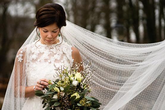 Bruidsfotografie voor een trouwdag bij Utrecht